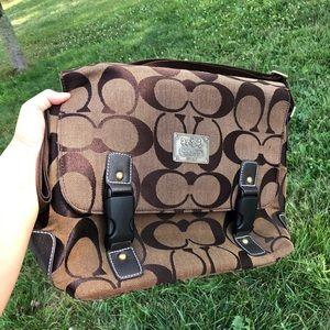 Coach crossbody bag/laptop bag